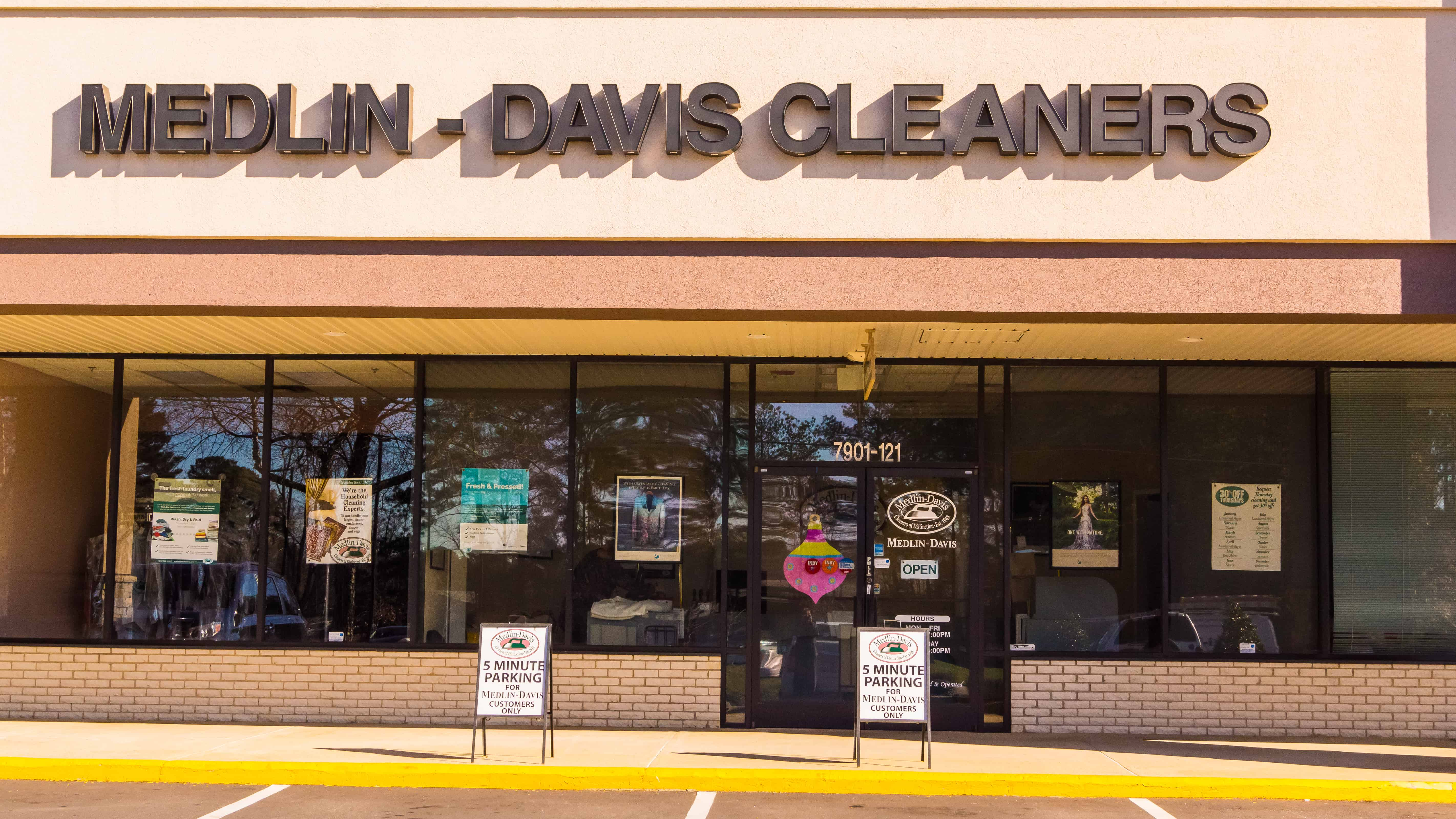 Dry Cleaners at Bent Tree Plaza